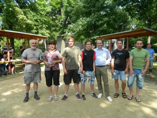 Turnaj v pétanque Pavlov 2012