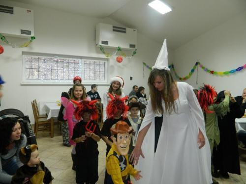 Dětský maškarní bál 2011