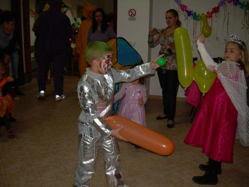 Dětský maškarní bál 2010