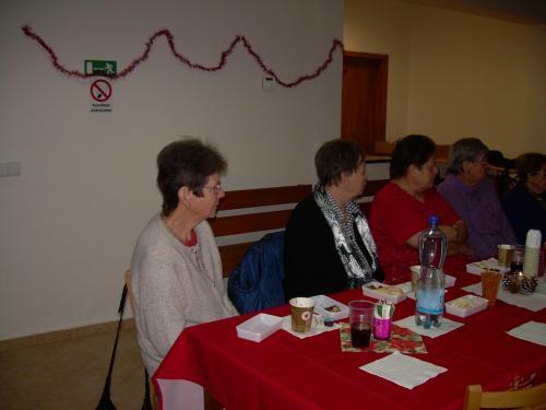 Předvánoční posezení žen a silvestrovské posezení 2010