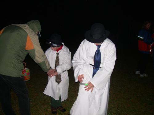 Strašidelný lampionový průvod 2010
