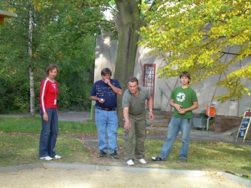 Turnaj v pétanque v Pavlově 2007