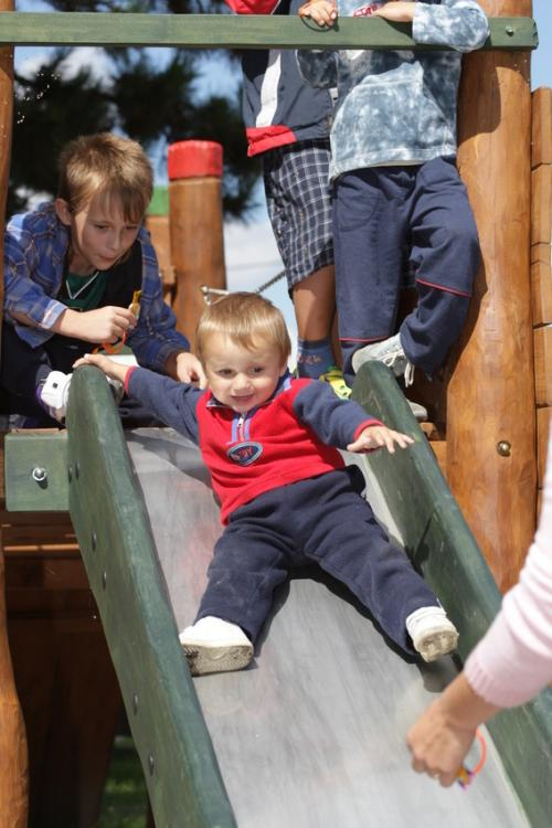Slavnostní otevření dětského hřiště